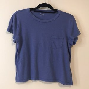 Madewell cropped pocket T-shirt